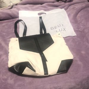 Deux Lux off white backpack